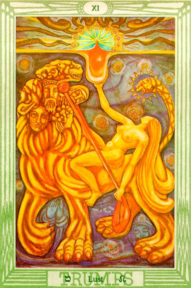 The Moon Reversed Thoth