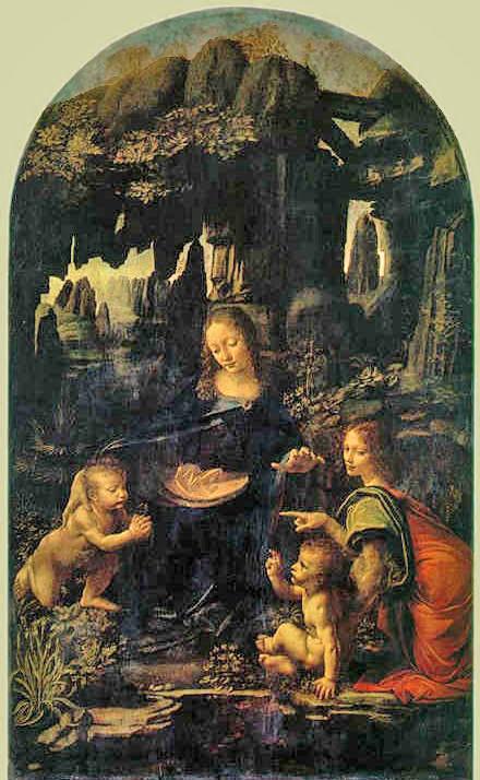 "Bizarre True Facts from ""The Da Vinci Code"" Da Vinci Paintings Hidden Messages"