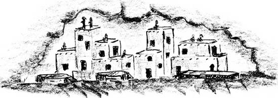 ARIZONA GAZETTE  MONDAY EVENING  APRIL 5, 1909  EXPLORATIONS IN GRAND CANYON Pueblo