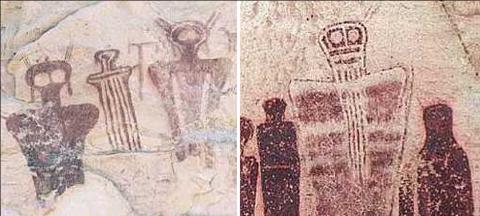 NASA sugiere que el arte rupestre puede ser de origen extrat