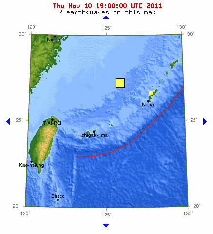 East China Sea 6.9 Quake - Undersea Reptilian Base Destroyed ...