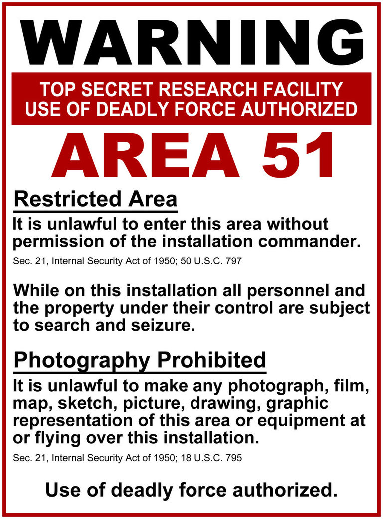surrounding Area 51 was Real Alien Footage Area 51