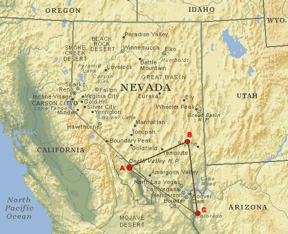 谷歌地图发现美国的无人机跑道