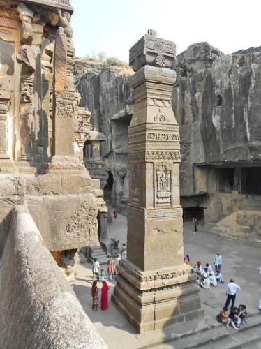 Загадочные Храмы древности - Храм Кайласа. 2