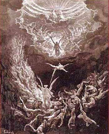 an analysis of the fall of humankind through the works of the fallen angel satan portrayed by john m That describes the fallen angel satan and the fall of analysis of satan's speech in in john milton's paradise lost angel, satan, god]:: 1 works cited.