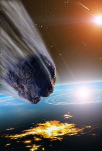 Meteorites, Asteroids, and Comets - Damages, Disasters ...