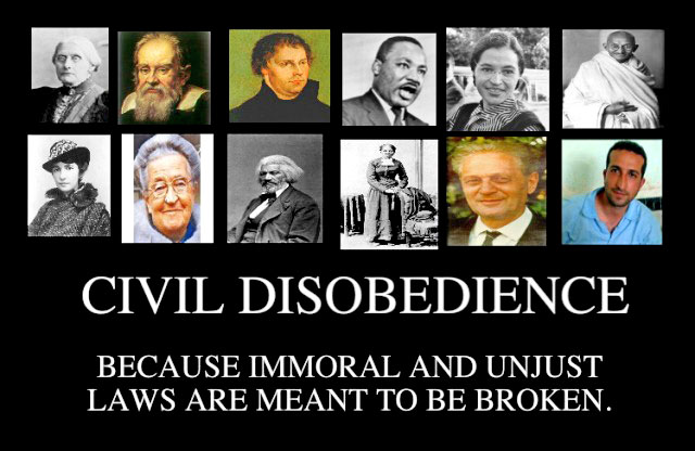"essays on civil disobediance There is no such thing as ""the civil disobedience movement  disobedience""  was by new england philosopher henry david thoreau in an essay by that  name."