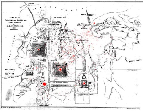 The CygnusGiza Correlation The Facts And Alignments In - Giza map