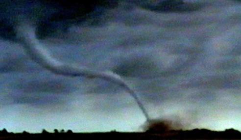 Twister Tornado Lightning