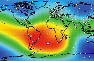 South Atlantic Anomaly: Something's Going on in the Core-Mantel Boundary Under Africa Earthchanges49_09