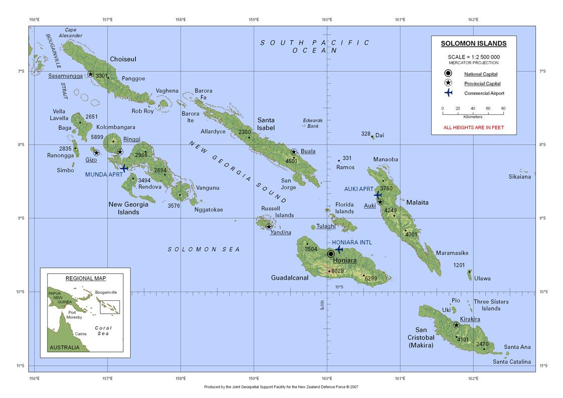 Marshall Islands Map Ww
