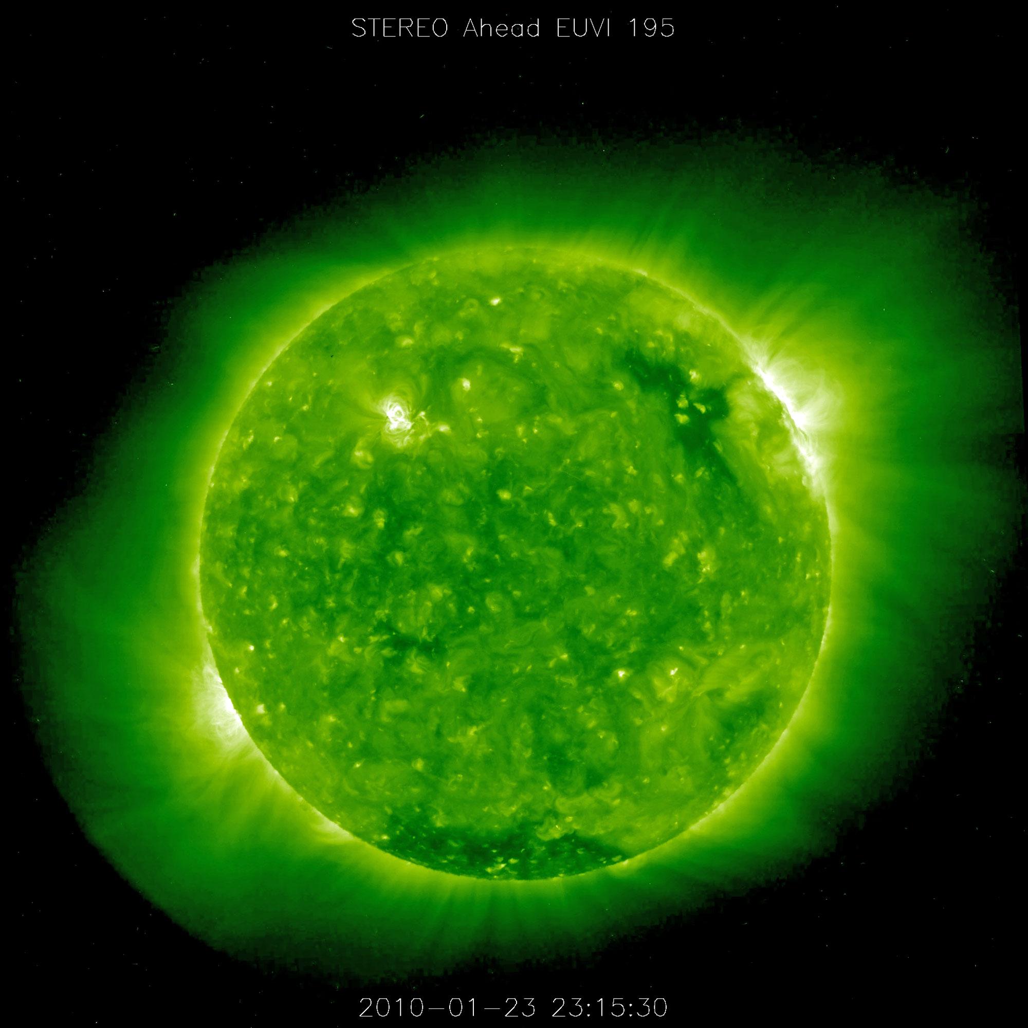 Giant UFOs Around The Sun? NASA Claims Malfunction ...