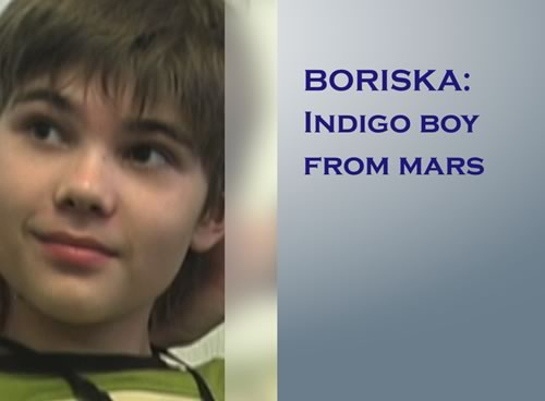 Boriska - Indigo Boy From Mars