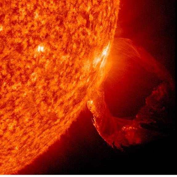 depiction of solar storm 1859 - photo #48