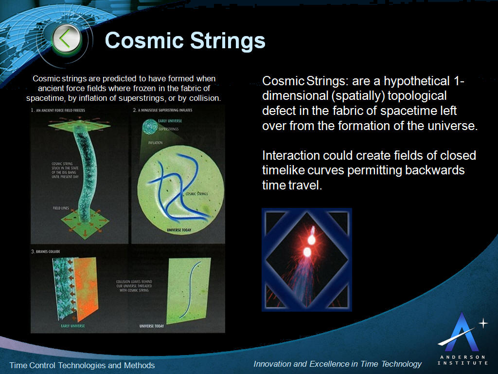 Cosmic Strings Time Travel