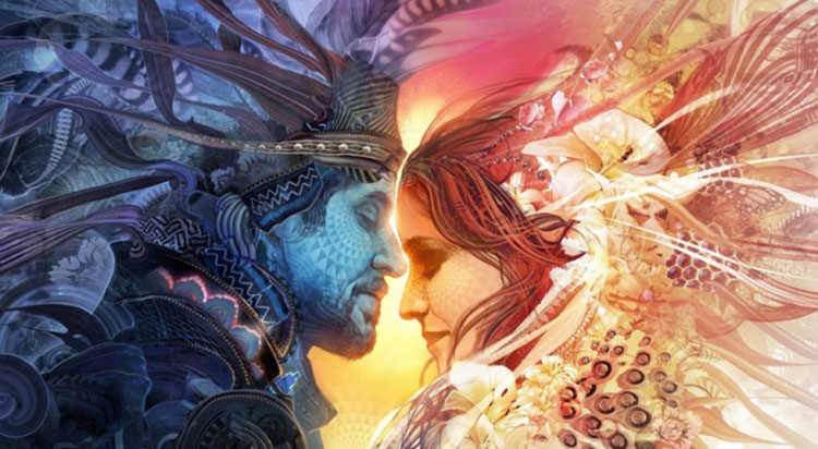 When The Masculine And The Feminine Are In Balance, There Is Fluidity,  Relationship, A Flow Of Energy, Unity, Totality.