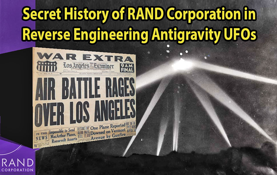 history of rand corporation and secret space programs