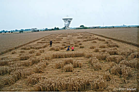THE ALIENS ARRIVE - OR 'CLOSE ENCOUNTERS OF THE THIRD KIND' |Chilbolton Crop Circle Explanation