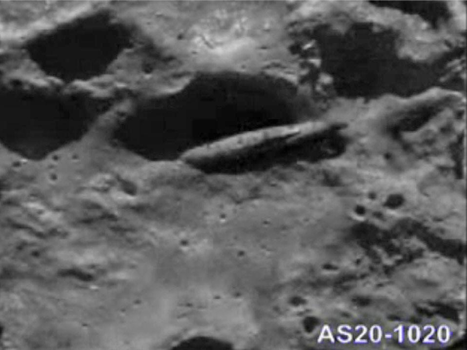 ancient spacecraft on moon clementine satellite - photo #19