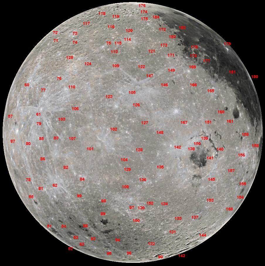 The Lunar Far Side - Full Moon Atlas on