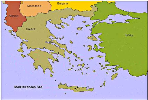 creta mapa Mapa Sagrado Creta creta mapa