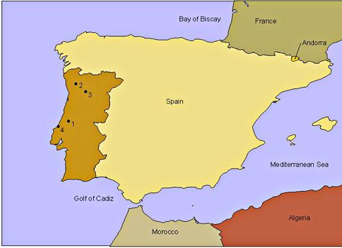 Mapa Sagrado Portugal