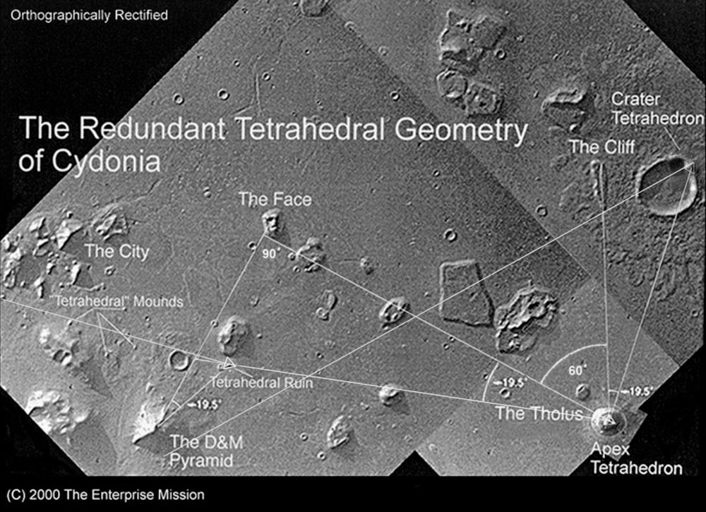 Resultado de imagen para pyramid mars nasa