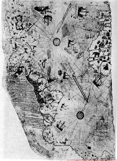 The Antarctica and Piri Reis Map