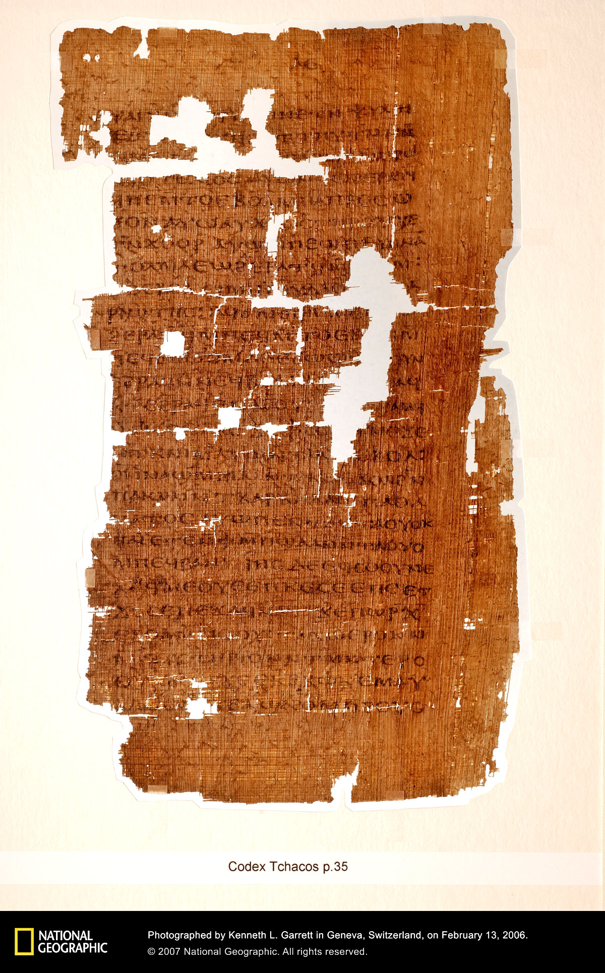 The Lost Gospel Of Judas From The Codex Tchacos