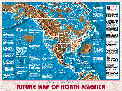 Possible Maps Of The Future - Future map of us