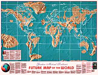 American Prophecy - Edgar cayce future us map