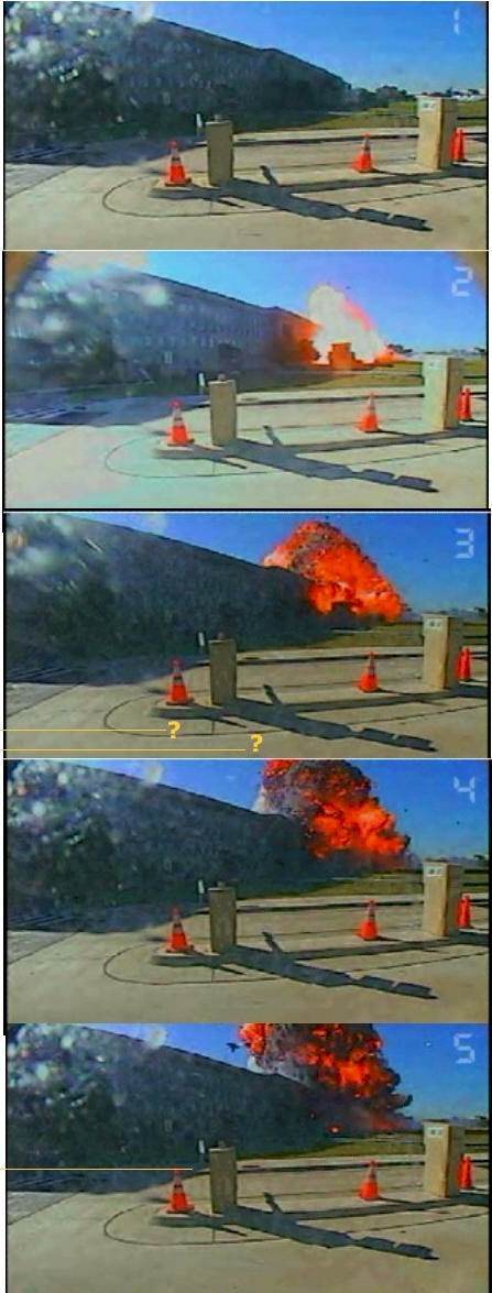 missile damage to pentagon unseen pentagon fraud footage the 9