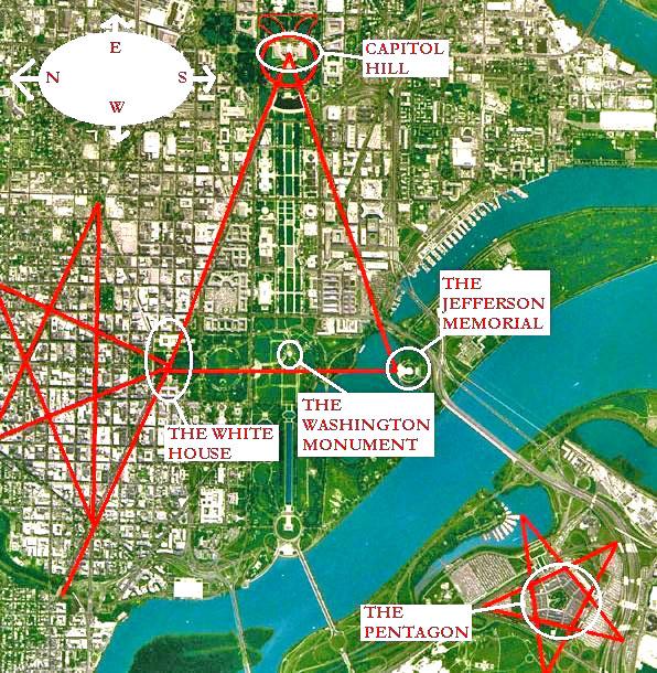 Washington Dc And Masonicluciferic Symbology