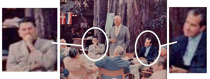 ronald reagan 1957 richard nixon bohemia grove