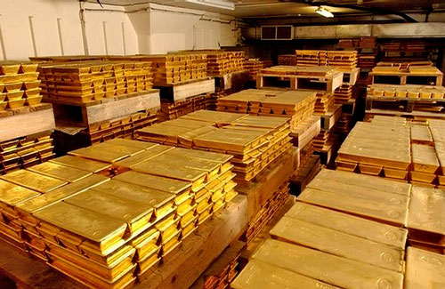 to have performed an audit of U S  gold held by the Federal ReserveFederal Reserve Gold