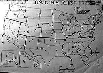 FEMA Halliburton Confirms Concentration Camps Already Constructed - Fema camps in the us map