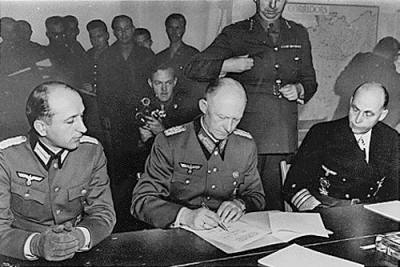 may 1945 surrender