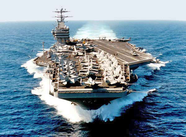 These Carriers Serve As Moving Centers Of Projected Strength Through Their Strike Capabilities