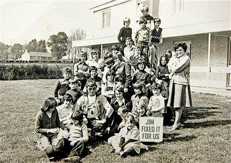 Saville, en el orfanato de la isla de jersey