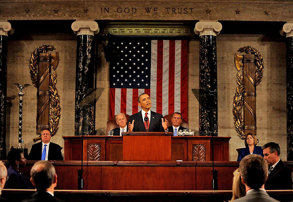 State of The Union? It's Behind Him...