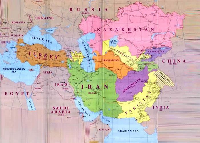 Preparing for World War III Targeting Iran – Mapa De Iraq