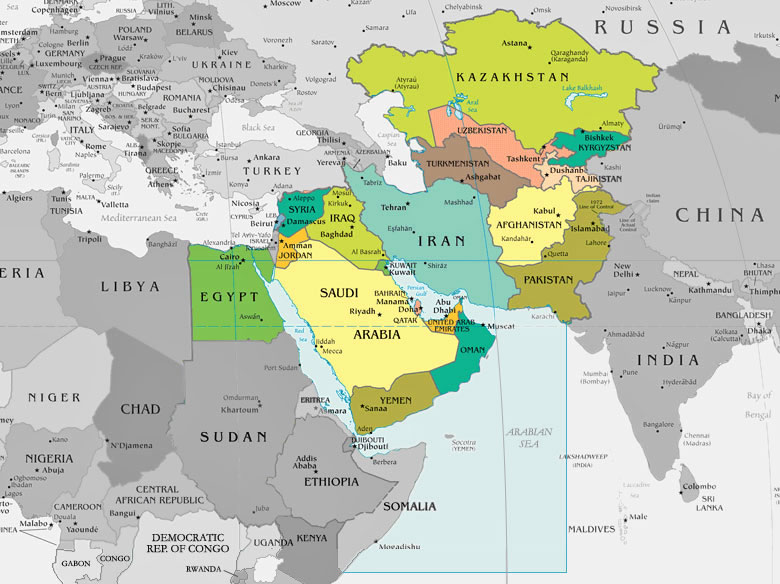 Preparing for world war iii targeting iran iran including the various scenarios of escalation in and beyond the broader middle east central asian region would be coordinated by usstratcom map gumiabroncs Images