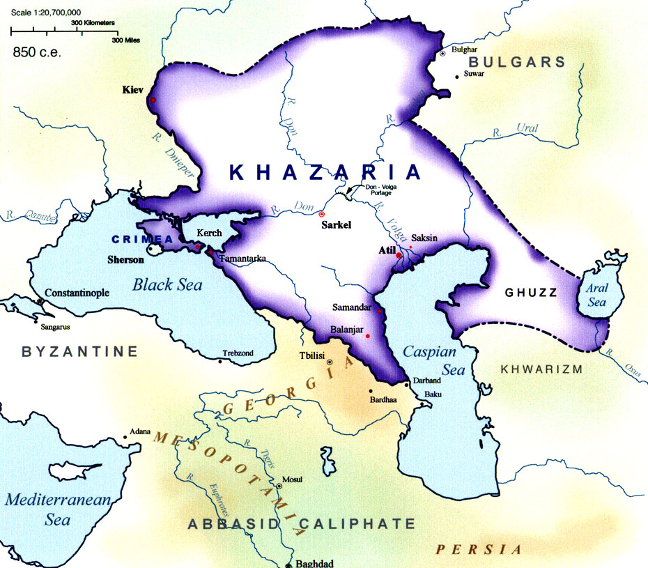 Image result for khazar empire