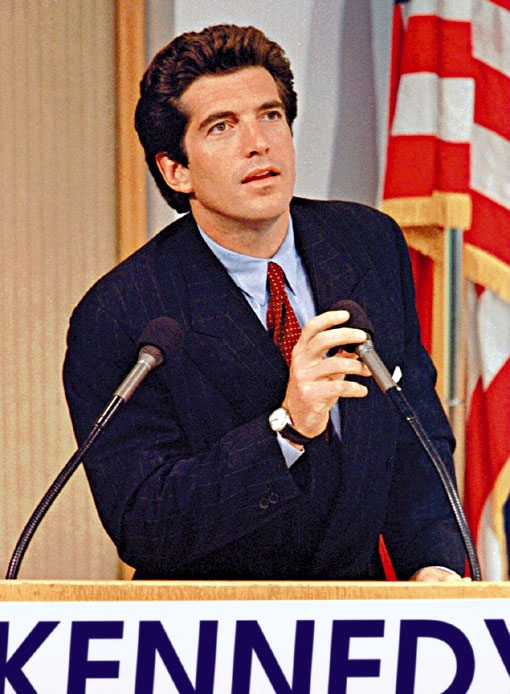 caroline kennedy and her brother assassinated john f kennedy jr