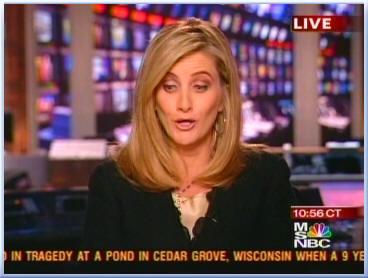 Beautiful News anchor Alex Witt