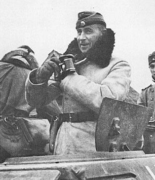 SS Oberstgruppenfuhrer Paul Hausser