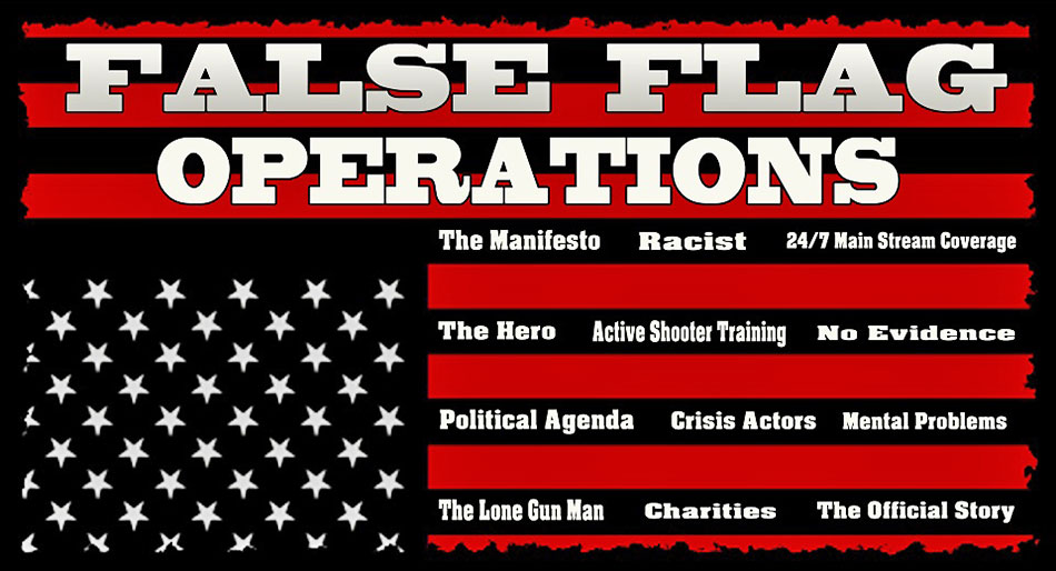Anatomy of False-Flag Events…