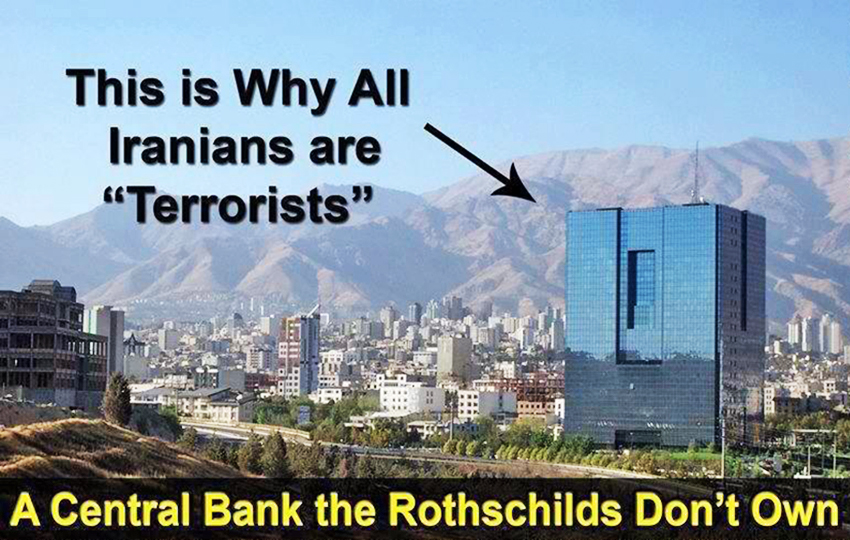 Image result for Rothschilds Want Iran's Banks