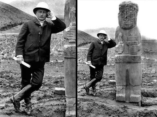 Resultado de imagen de El arqueólogo austríaco Arthur Posnansky