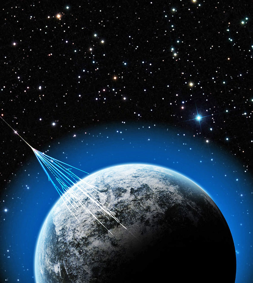 a history of the discovery of cosmic rays Discovery of cosmic rays  crop cosmic ray history 2005 by: mertice  detection radioactivity rays cosmic discovery.